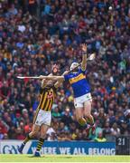 18 August 2019; Brendan Maher of Tipperary in action against TJ Reid of Kilkenny during the GAA Hurling All-Ireland Senior Championship Final match between Kilkenny and Tipperary at Croke Park in Dublin. Photo by Sam Barnes/Sportsfile