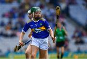 18 August 2019; Shauna MacSweeney, St. Patrick's NS , Bunclody, Wexford, representing Tipperary, during the INTO Cumann na mBunscol GAA Respect Exhibition Go Games prior to the GAA Hurling All-Ireland Senior Championship Final match between Kilkenny and Tipperary at Croke Park in Dublin. Photo by Ray McManus/Sportsfile