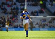 18 August 2019; Shauna MacSweeney, St. Patrick's NS, Bunclody, Wexford, representing Tipperary, during the INTO Cumann na mBunscol GAA Respect Exhibition Go Games prior to the GAA Hurling All-Ireland Senior Championship Final match between Kilkenny and Tipperary at Croke Park in Dublin. Photo by Ray McManus/Sportsfile