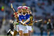 18 August 2019; Lucy Donnelly, Scoil Mhuire, Tallow, Waterford, representing Tipperary, during the INTO Cumann na mBunscol GAA Respect Exhibition Go Games prior to the GAA Hurling All-Ireland Senior Championship Final match between Kilkenny and Tipperary at Croke Park in Dublin. Photo by Ray McManus/Sportsfile