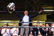 19 August 2019; Ronan Maher of Tipperary with the Liam MacCarthy cup at the Tipperary All-Ireland hurling champions homecoming event at Semple Stadium in Thurles, Tipperary. Photo by Sam Barnes/Sportsfile