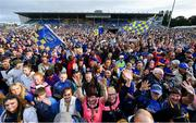 19 August 2019; A general view of the crowd at the Tipperary All-Ireland hurling champions homecoming event at Semple Stadium in Thurles, Tipperary. Photo by Sam Barnes/Sportsfile