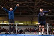 19 August 2019; The Two Johnnies perform at the Tipperary All-Ireland hurling champions homecoming event at Semple Stadium in Thurles, Tipperary. Photo by Sam Barnes/Sportsfile