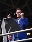 19 August 2019; Teneo CEO Declan Kelly speaking at the Tipperary All-Ireland hurling champions homecoming event at Semple Stadium in Thurles, Tipperary. Photo by Sam Barnes/Sportsfile