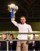 19 August 2019; Noel McGrath of Tipperary with the Liam MacCarthy cup at the Tipperary All-Ireland hurling champions homecoming event at Semple Stadium in Thurles, Tipperary. Photo by Sam Barnes/Sportsfile