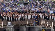 19 August 2019; Brendan Maher of Tipperary lifts the Liam MacCarthy cup and celebrates with team-mates at the Tipperary All-Ireland hurling champions homecoming event at Semple Stadium in Thurles, Tipperary. Photo by Sam Barnes/Sportsfile