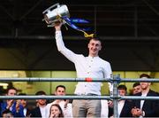 19 August 2019; Mark Kehoe of Tipperary with the Liam MacCarthy cup at the Tipperary All-Ireland hurling champions homecoming event at Semple Stadium in Thurles, Tipperary. Photo by Sam Barnes/Sportsfile
