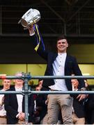 19 August 2019; Brian Hogan of Tipperary with the Liam MacCarthy cup at the Tipperary All-Ireland hurling champions homecoming event at Semple Stadium in Thurles, Tipperary. Photo by Sam Barnes/Sportsfile