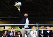19 August 2019; James Barry of Tipperary with the Liam MacCarthy cup at the Tipperary All-Ireland hurling champions homecoming event at Semple Stadium in Thurles, Tipperary. Photo by Sam Barnes/Sportsfile