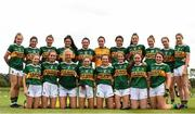 20 August 2019; Kerry team ahead of the 2019 LGFA Under-17 Academy Day at the GAA National Games Development Centre in Abbotstown, Dublin. Photo by Eóin Noonan/Sportsfile