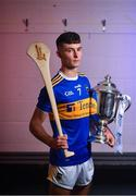 20 August 2019; In attendance at The Bord Gáis Energy GAA Hurling All-Ireland U-20 Championship Final preview event in Limerick today is Tipperary captain Craig Morgan. Cork and Tipperary will face off in the first ever final at the U-20 grade at the LIT Gaelic Grounds this Saturday. Photo by David Fitzgerald/Sportsfile