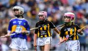18 August 2019; Aisling Walsh, Ballyhea NS, Charleville, Cork, representing Kilkenny, during the INTO Cumann na mBunscol GAA Respect Exhibition Go Games prior to the GAA Hurling All-Ireland Senior Championship Final match between Kilkenny and Tipperary at Croke Park in Dublin. Photo by Piaras Ó Mídheach/Sportsfile