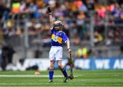 18 August 2019; Catherine Moohan, St. Patrick's PS, Dungannon, Tyrone, representing Tipperary, during the INTO Cumann na mBunscol GAA Respect Exhibition Go Games prior to the GAA Hurling All-Ireland Senior Championship Final match between Kilkenny and Tipperary at Croke Park in Dublin. Photo by Piaras Ó Mídheach/Sportsfile