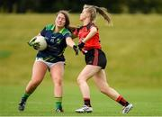 20 August 2019; Action from the game between Kerry and Down during the 2019 LGFA Under-17 Academy Day at the GAA National Games Development Centre in Abbotstown, Dublin. Photo by Eóin Noonan/Sportsfile