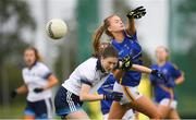 20 August 2019; Action from the game between Tipperary and Dublin during the 2019 LGFA Under-17 Academy Day at the GAA National Games Development Centre in Abbotstown, Dublin. Photo by Eóin Noonan/Sportsfile