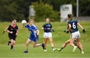 20 August 2019; Action from the game between Kerry and Laois during the 2019 LGFA Under-17 Academy Day at the GAA National Games Development Centre in Abbotstown, Dublin. Photo by Eóin Noonan/Sportsfile