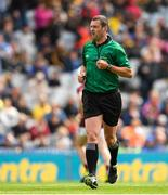 18 August 2019; Referee Patrick Murphy during the Electric Ireland GAA Hurling All-Ireland Minor Championship Final match between Kilkenny and Galway at Croke Park in Dublin. Photo by Eóin Noonan/Sportsfile