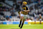 18 August 2019; Seán Treacy, Garryhill NS, Garryhill, Carlow, representing Kilkenny, during the INTO Cumann na mBunscol GAA Respect Exhibition Go Games prior to the GAA Hurling All-Ireland Senior Championship Final match between Kilkenny and Tipperary at Croke Park in Dublin. Photo by Eóin Noonan/Sportsfile