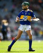 18 August 2019; John Ryan, Kilbrittain NS, Bandon, Cork, representing Tipperary, during the INTO Cumann na mBunscol GAA Respect Exhibition Go Games prior to the GAA Hurling All-Ireland Senior Championship Final match between Kilkenny and Tipperary at Croke Park in Dublin. Photo by Eóin Noonan/Sportsfile