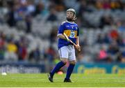 18 August 2019; Ross Doherty, Scoil Iosagáin, Buncrana, Donegal, representing Tipperary, during the INTO Cumann na mBunscol GAA Respect Exhibition Go Games prior to the GAA Hurling All-Ireland Senior Championship Final match between Kilkenny and Tipperary at Croke Park in Dublin. Photo by Eóin Noonan/Sportsfile