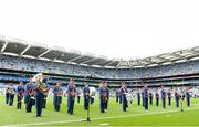 18 August 2019; The Artane School of Music Band ahead of the Electric Ireland GAA Hurling All-Ireland Minor Championship Final match between Kilkenny and Galway at Croke Park in Dublin. Photo by Eóin Noonan/Sportsfile