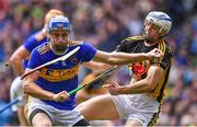18 August 2019; John McGrath of Tipperary is tackled by Huw Lawlor of Kilkenny during the GAA Hurling All-Ireland Senior Championship Final match between Kilkenny and Tipperary at Croke Park in Dublin. Photo by Brendan Moran/Sportsfile