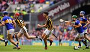 18 August 2019; Paddy Deegan of Kilkenny loses his helmet during play during the GAA Hurling All-Ireland Senior Championship Final match between Kilkenny and Tipperary at Croke Park in Dublin. Photo by Brendan Moran/Sportsfile