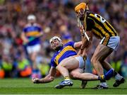 18 August 2019; Padraic Maher of Tipperary in action against Billy Ryan of Kilkenny during the GAA Hurling All-Ireland Senior Championship Final match between Kilkenny and Tipperary at Croke Park in Dublin. Photo by Piaras Ó Mídheach/Sportsfile