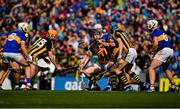 18 August 2019; Walter Walsh of Kilkenny in action against Cathal Barrett of Tipperary during the GAA Hurling All-Ireland Senior Championship Final match between Kilkenny and Tipperary at Croke Park in Dublin. Photo by Brendan Moran/Sportsfile