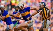 18 August 2019; Padraic Maher of Tipperary in action against TJ Reid of Kilkenny during the GAA Hurling All-Ireland Senior Championship Final match between Kilkenny and Tipperary at Croke Park in Dublin. Photo by Brendan Moran/Sportsfile