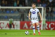 31 July 2019; Andy Boyle of Dundalk during the UEFA Champions League Second Qualifying Round 2nd Leg match between Qarabag FK and Dundalk at Dalga Arena in Baku, Azerbaijan. Photo by Eóin Noonan/Sportsfile