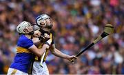 18 August 2019; Brendan Maher of Tipperary and TJ Reid of Kilkenny during the GAA Hurling All-Ireland Senior Championship Final match between Kilkenny and Tipperary at Croke Park in Dublin. Photo by Piaras Ó Mídheach/Sportsfile