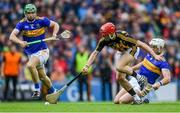 18 August 2019; Cillian Buckley of Kilkenny in action against Noel McGrath, left, and Padraic Maher of Tipperary during the GAA Hurling All-Ireland Senior Championship Final match between Kilkenny and Tipperary at Croke Park in Dublin. Photo by Piaras Ó Mídheach/Sportsfile