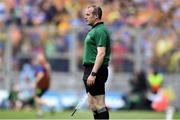 18 August 2019; Linesman Johnny Murphy during the GAA Hurling All-Ireland Senior Championship Final match between Kilkenny and Tipperary at Croke Park in Dublin. Photo by Piaras Ó Mídheach/Sportsfile