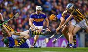 18 August 2019; Ronan Maher of Tipperary is tackled by TJ Reid of Kilkenny during the GAA Hurling All-Ireland Senior Championship Final match between Kilkenny and Tipperary at Croke Park in Dublin. Photo by Piaras Ó Mídheach/Sportsfile