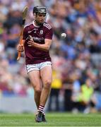 18 August 2019; Eoin Lawless of Galway during the Electric Ireland GAA Hurling All-Ireland Minor Championship Final match between Kilkenny and Galway at Croke Park in Dublin. Photo by Piaras Ó Mídheach/Sportsfile