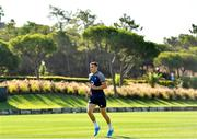 22 August 2019; Garry Ringrose during Ireland Rugby squad training at The Campus in Quinta do Lago in Faro, Portugal. Photo by Ramsey Cardy/Sportsfile