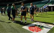 23 August 2019; Cian Healy, left, and John Ryan during the Ireland Rugby captain's run at Twickenham Stadium in London, England. Photo by Ramsey Cardy/Sportsfile