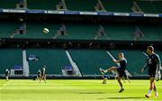 23 August 2019; Jordan Larmour during the Ireland Rugby captain's run at Twickenham Stadium in London, England. Photo by Ramsey Cardy/Sportsfile