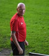 23 August 2019; Referee Paul Tuite prior to the Extra.ie FAI Cup Second Round match between Bohemians and Longford Town at Dalymount Park in Dublin. Photo by Piaras Ó Mídheach/Sportsfile