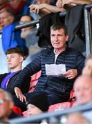 23 August 2019; Republic of Ireland U21 head coach Stephen Kenny in attendance at the Extra.ie FAI Cup Second Round match between Bohemians and Longford Town at Dalymount Park in Dublin. Photo by Piaras Ó Mídheach/Sportsfile