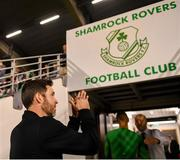 23 August 2019; Shamrock Rovers manager Stephen Bradley following the Extra.ie FAI Cup Second Round match between Shamrock Rovers and Drogheda United at Tallaght Stadium in Dublin. Photo by Seb Daly/Sportsfile