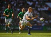24 August 2019; Owen Farrell of England  during the Quilter International match between England and Ireland at Twickenham Stadium in London, England. Photo by Ramsey Cardy/Sportsfile