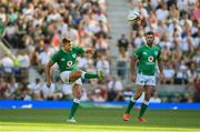 24 August 2019; Ross Byrne of Ireland during the Quilter International match between England and Ireland at Twickenham Stadium in London, England. Photo by Ramsey Cardy/Sportsfile