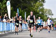 24 August 2019; Damien Burke competing in the KBC & Dublin Marathon Race Series, where, over 5,200 runners took part in the Frank Duffy 10 Mile, part of the KBC Dublin Race Series 2019 at Phoenix Park in Dublin. Photo by Sam Barnes/Sportsfile