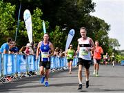 24 August 2019; Tony Kynes of Donore Harriers competing during the KBC & Dublin Marathon Race Series, where, over 5,200 runners took part in the Frank Duffy 10 Mile, part of the KBC Dublin Race Series 2019 at Phoenix Park in Dublin. Photo by Sam Barnes/Sportsfile