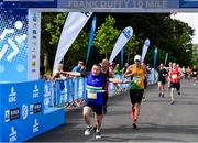 24 August 2019; Danny Cirdei of Ardee and District AC competing during the KBC & Dublin Marathon Race Series, where, over 5,200 runners took part in the Frank Duffy 10 Mile, part of the KBC Dublin Race Series 2019 at Phoenix Park in Dublin. Photo by Sam Barnes/Sportsfile