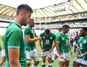 24 August 2019; Ross Byrne of Ireland after the Quilter International match between England and Ireland at Twickenham Stadium in London, England. Photo by Brendan Moran/Sportsfile