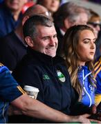 24 August 2019; Tipperary senior hurling manager Liam Sheedy in attendance at the Bord Gáis Energy GAA Hurling All-Ireland U20 Championship Final match between Cork and Tipperary at LIT Gaelic Grounds in Limerick. Photo by David Fitzgerald/Sportsfile