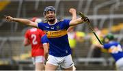 24 August 2019; Billy Seymour of Tipperary celebrates a late score during the Bord Gáis Energy GAA Hurling All-Ireland U20 Championship Final match between Cork and Tipperary at LIT Gaelic Grounds in Limerick. Photo by David Fitzgerald/Sportsfile